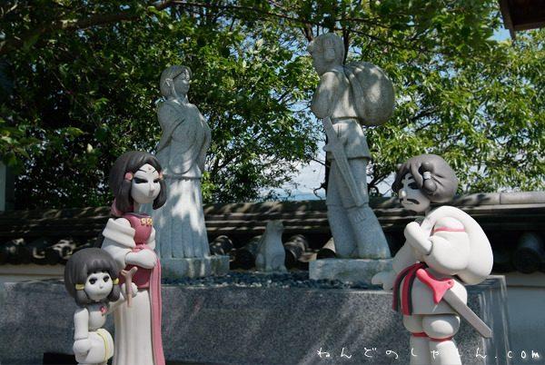 夏休み「ねんど人形と写真展~神話と昔話」鳥取県お城山展望台河原城 本日スタート