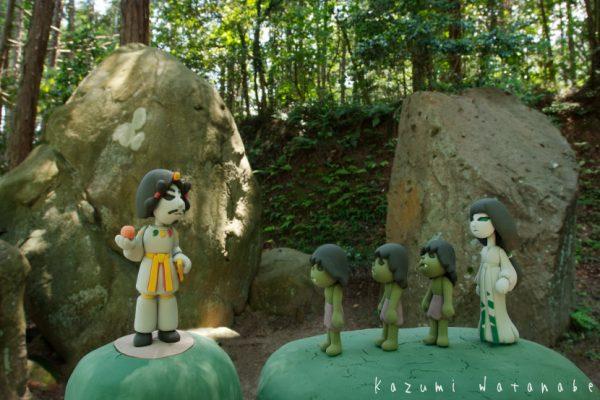 出雲神話絵巻 日本の神話 黄泉の国