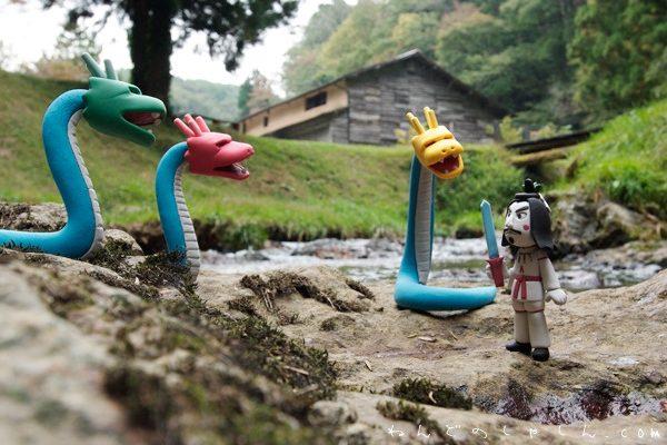 「ねんど人形と写真展~神話と昔話」鳥取県お城山展望台河原城 「神話博しまね」の写真より