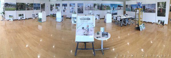 「ねんど人形写真 大分と日本の昔ばなし展」2日目です