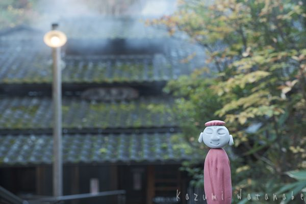 甚吉物語 熊本阿蘇小国の黒川温泉地蔵湯の身代わり地蔵