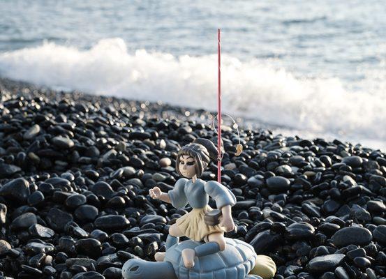 黒が浜とシイネツヒコと浦島太郎